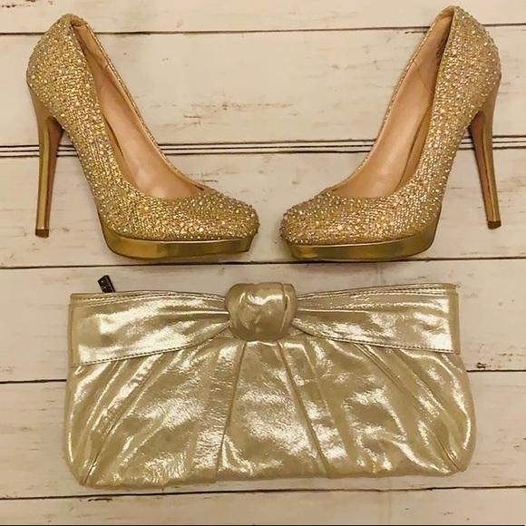 De Blossom Collection Shoes - Super sparkly heels